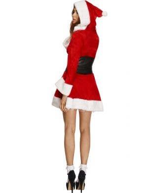 Hooded Miss Santa Sexy Women's Christmas Costume