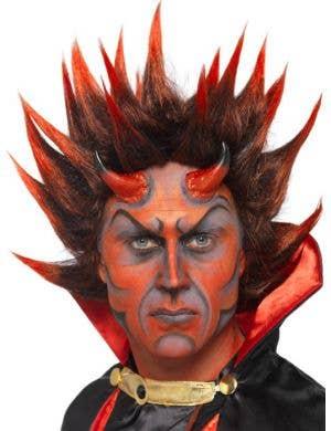 Spiky Red Devil Costume Wig