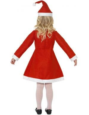 Classic Santa Girls Fancy Dress Christmas Costume