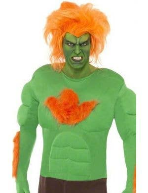 Blanka Street Fighter Men's Costume