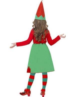Santa's Little Helper Girl's Christmas Elf Costume