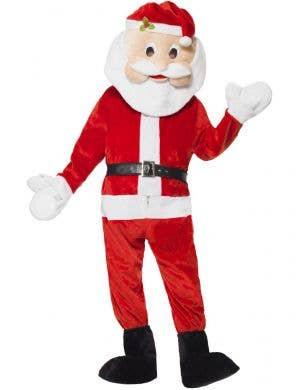 Mascot Santa Claus Adults Christmas Fancy Dress Costume