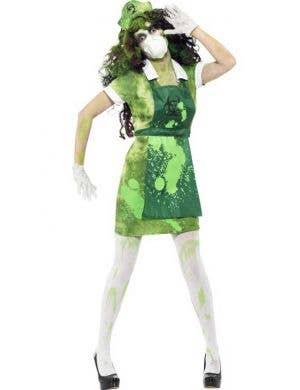 Hell's Asylum Zombie Nurse Women's Halloween Costume