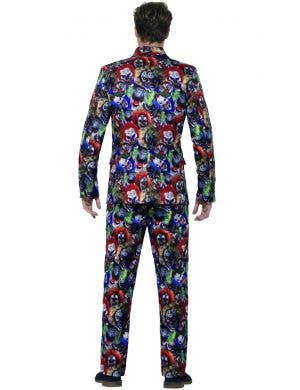 Evil Clown Men's Halloween Stand Out Costume Suit