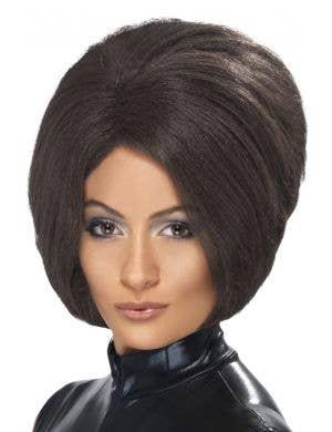 Posh Spice Women's Dark Brown Costume Wig
