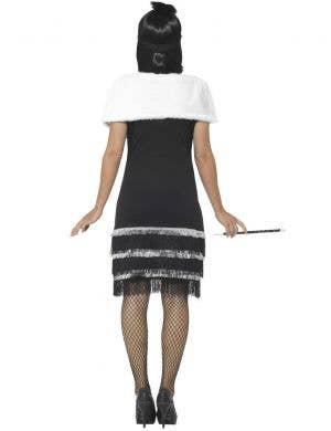1920's Ritzy Black Flapper Costume for Women