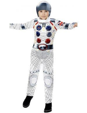 Deluxe Spaceman Boys Astronaut Fancy Dress Costume