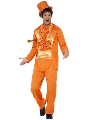 1990's Dumb and Dumber Men's Orange Tuxedo Costume