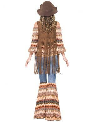 Harmony Hippie Women's 70's Fancy Dress Costume