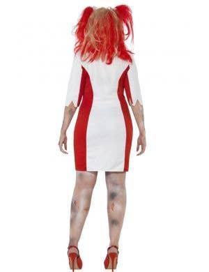 Bloodstained Nurse Women's Plus Size Zombie Costume