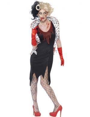 Zombie Evil Madame Women's Halloween Costume