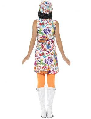 1960's Women's Groovy Chick Retro Costume
