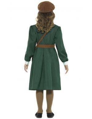 WW2 Evacuee Girl's Fancy Dress Costume