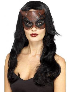 Devil Women's Halloween Mask
