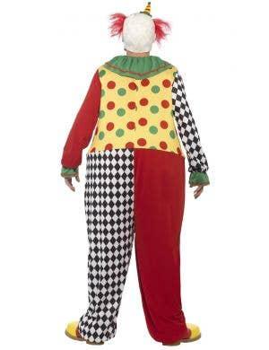Sinister Clown Men's Hooped Halloween Costume