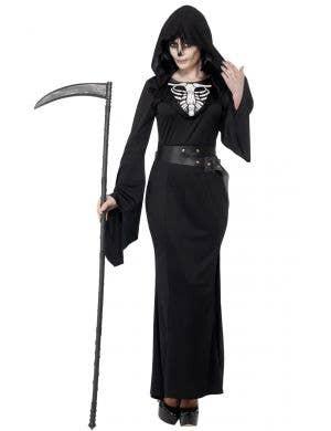 Lady Grim Reaper Women's Plus Size Halloween Costume