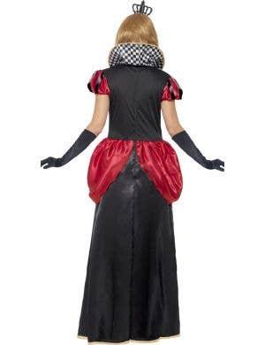 Royal Red Queen Of Hearts Women's Fancy Dress Costume