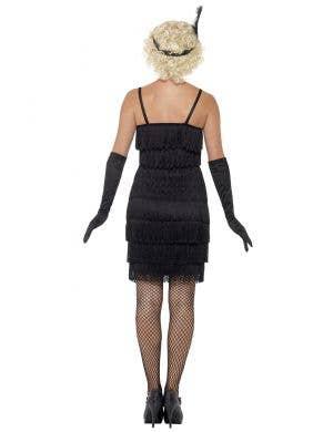 Glam Flapper Women's Plus Size Black 1920's Costume