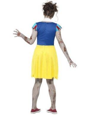 Zombie Miss Snow Teen Girl's Halloween Costume