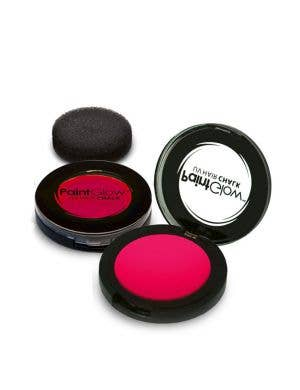 Temporary Neon Pink Blacklight Reactive Hair Chalk Main Image