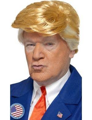 Mr Orange President Men's Trump Wig