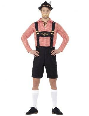 Oktoberfest Beer Fest Men's Bavarian Lederhosen Costume