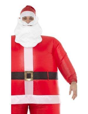 Inflatable Santa Men's Funny Christmas Costume