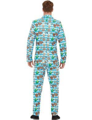 German Oktoberfest Men's Deluxe Stand Out Costume Suit