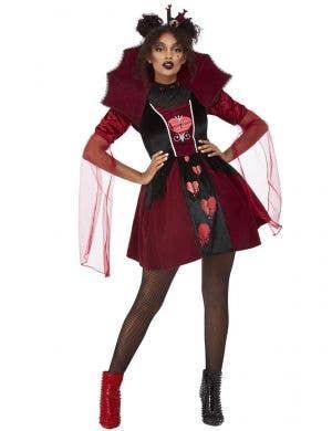 Queen of Broken Hearts Costume for Women - Main Image