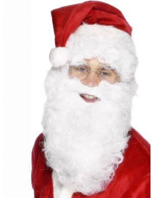 "11 Fancy Dress White Santa Xmas Fancy Dress White 11/"" Father Christmas Beard"
