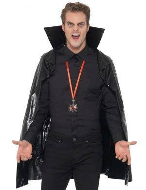 Vampire Budget PVC Black Cape