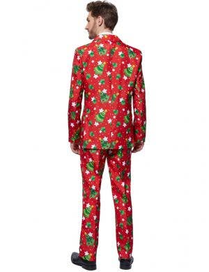 Christmas Trees Men's Red Suitmeister Costume Suit