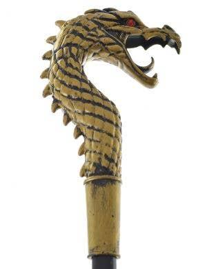 Golden Dragon Cane Costume Accessory