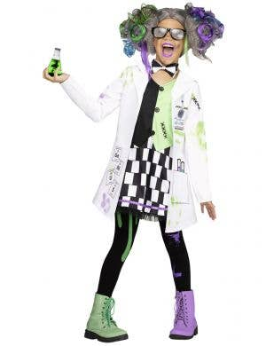 Teen Girls Mad Scientist Costume