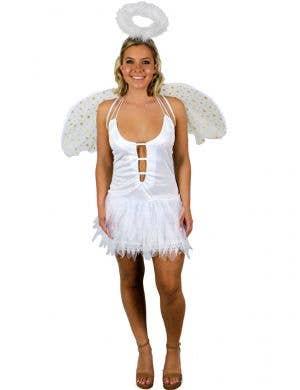Sexy White Angel Women's Costume
