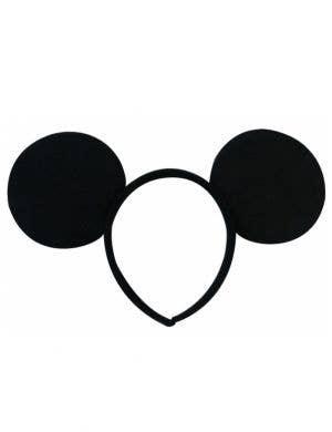 Minnie Mouse Black Ears on Headband