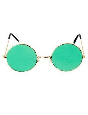 Green John Lennon Costume Glasses