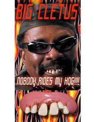 Big Cletus Novelty Misshapen Fake Teeth Accessory