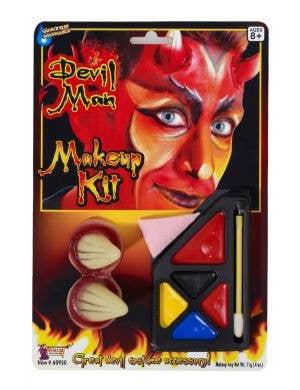 Devil Man Halloween Deluxe Makeup Kit