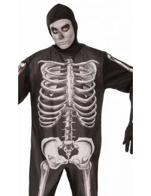 Spooky Skeleton Men's Onesie Halloween Costume