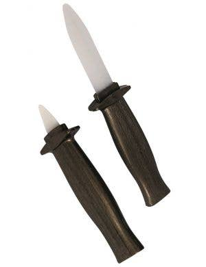 Retractable Blade Knife Novelty Halloween Accessory - 2 Pack