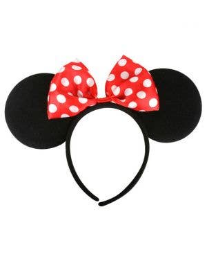 Minnie Mouse Ears Costume Accessory