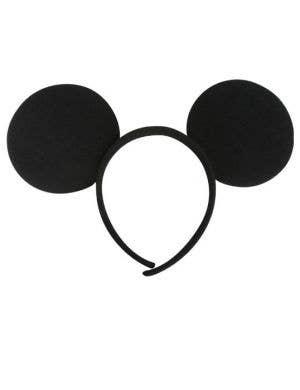 Mickey Mouse Costume Ears on Headband