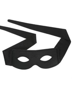 Mexican Bandito Adults Black Masquerade Mask