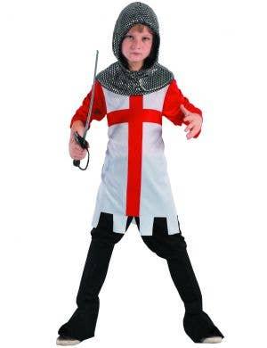 Medieval Boy's Knight Fancy Dress Costume