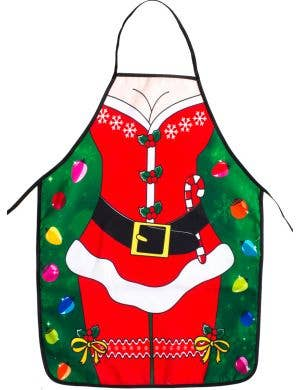 Sexy Miss Claus Novelty Christmas Costume Apron