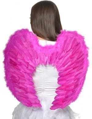 Hot Pink Angel Wings - Main Image