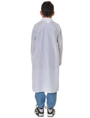 Doctor's Lab Coat Kid's White Lab Coat Dress Up Costume