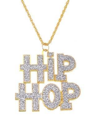 Hip Hop 90's Rapper Gold Chain Costume Accessory