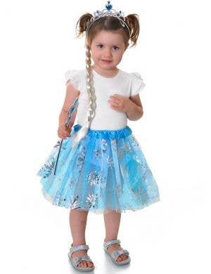 Elsa Toddler Girls Frozen Tutu Costume Accessory Set